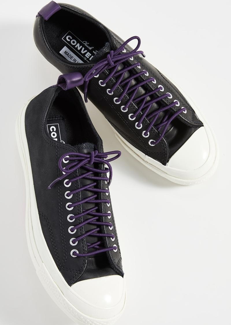 Converse Chuck 70 Fleece Leather Ox Sneakers