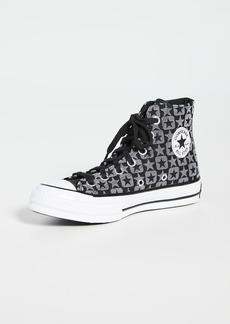 Converse Chuck 70 Flocked Canvas Sneakers