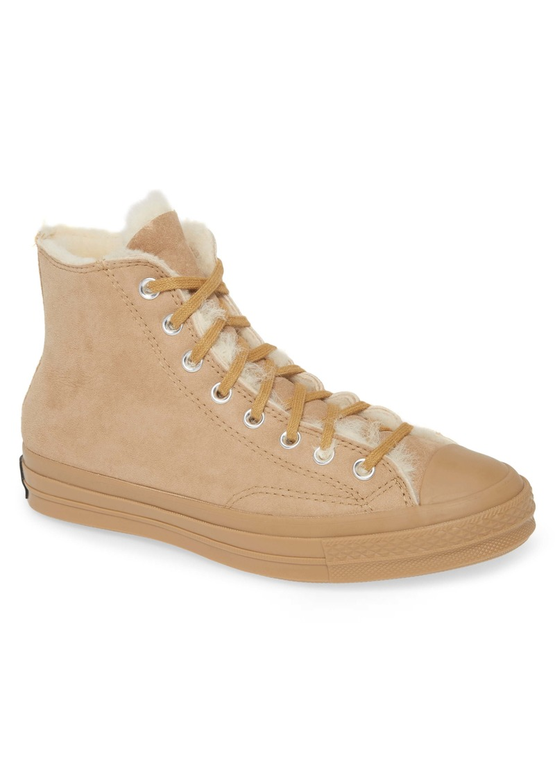 Converse Chuck 70 Genuine Shearling Lined Sneaker (Men)