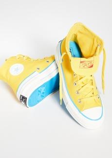 Converse Chuck 70 Hacked Heel High Top Sneakers