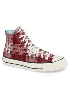 Converse Chuck 70 Plaid Hi Sneaker (Men)