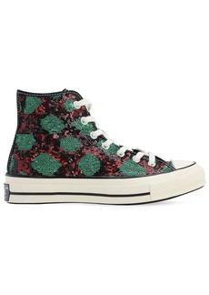 Converse Chuck 70 Snake Sequins Sneakers