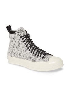 Converse Chuck All Star® 70 Flocked Wool High Top Sneaker (Women)