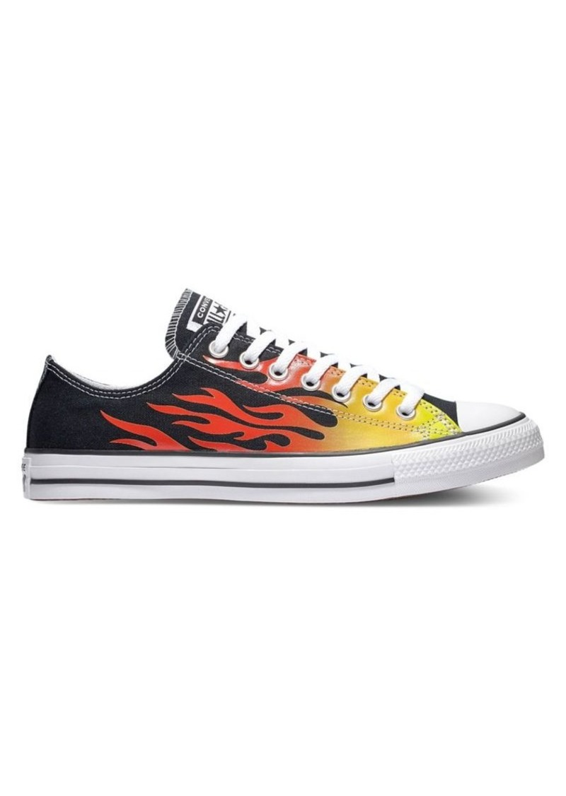 Converse Chuck Hi Flame Canvas Sneakers