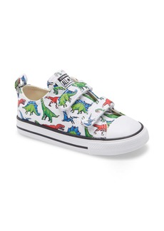 Converse Chuck Taylor® All Star® 2V Dino Sneaker (Baby, Walker & Toddler)