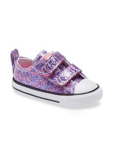 Converse Chuck Taylor® All Star® 2V Glitter Low Top Sneaker (Baby, Walker & Toddler)