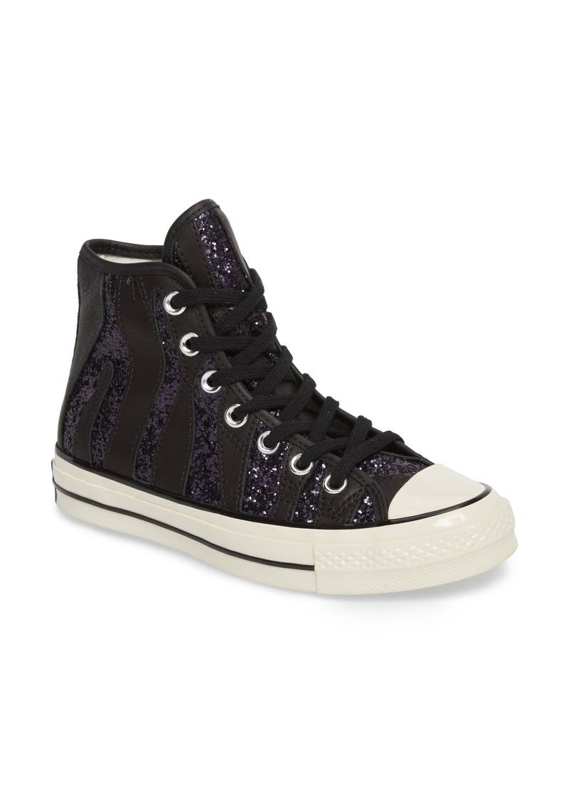 Converse Chuck Taylor® All Star® 70 Animal Glitter High Top Sneaker (Women) 5ebe2ac30