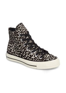 Converse Chuck Taylor® All Star® 70 Genuine Calf Hair High Top Sneaker (Women)