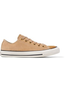 Converse Chuck Taylor All Star '70 pony hair-trimmed suede sneakers