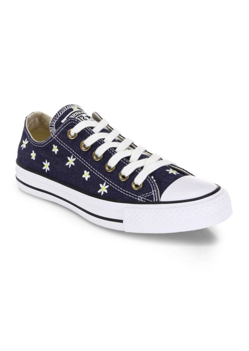 c7f6bcc7d60f Converse Converse Chuck Taylor All-Star Denim Daisy Low-Top Sneakers ...