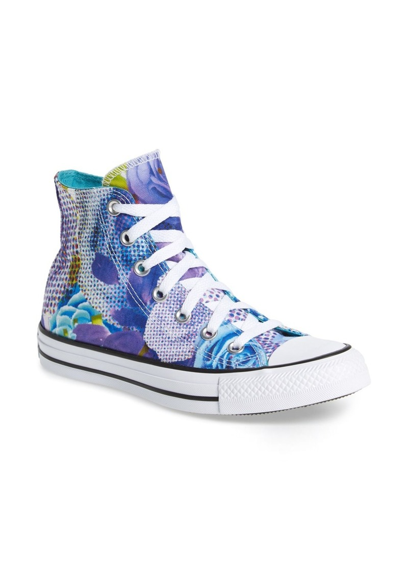 Converse Chuck Taylor® All Star® 'Digital Floral' High Top (Women)