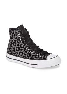 Converse Chuck Taylor® All Star® Flocked Canvas High Top Sneaker (Women)