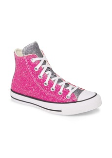 Converse Chuck Taylor® All Star® Glitter High Top Sneaker (Women)