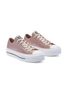 Converse Chuck Taylor® All Star® Glitter Lift Ox Platform Sneaker (Women)