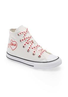 Converse Chuck Taylor® All Star® Heart High Top Sneaker (Women)