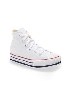 Converse Chuck Taylor® All Star® High Top Platform Sneaker (Toddler, Little Kid & Big Kid)