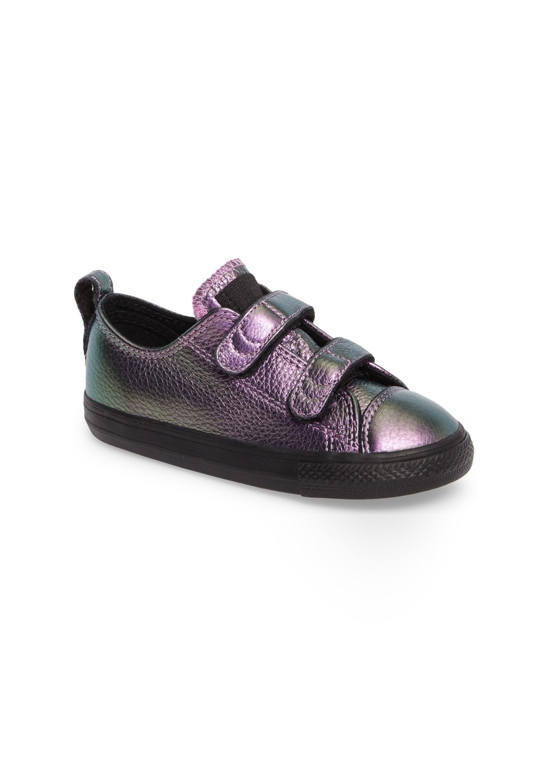 ac64f26432f8 Converse Chuck Taylor® All Star® Iridescent Leather Low Top Sneaker (Baby