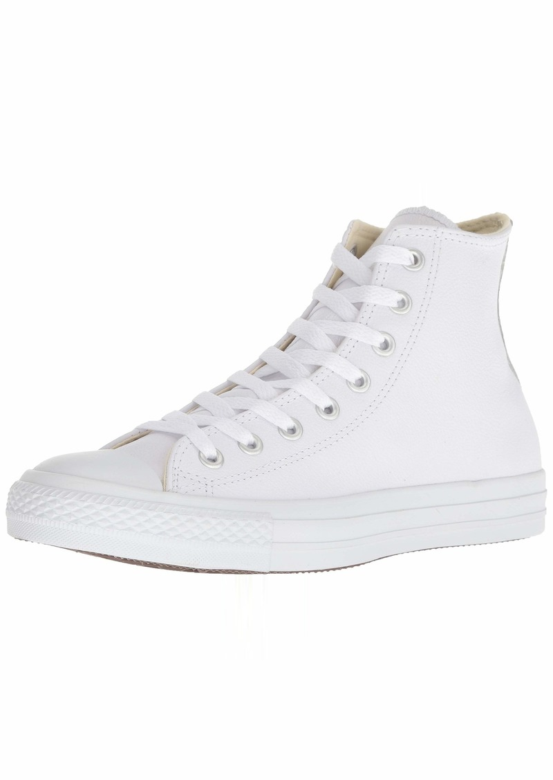 Converse Chuck Taylor All Star Leather High Top Sneaker  5.5 M US