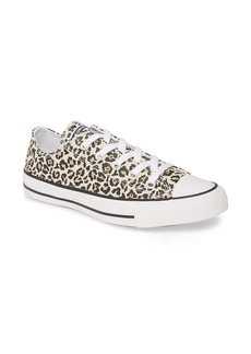 Converse Chuck Taylor® All Star® Leopard Print Low Top Sneaker (Women)