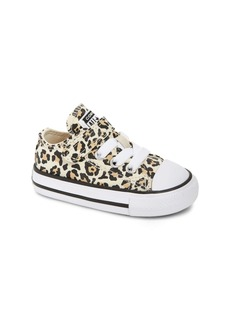 Converse Chuck Taylor® All Star® Leopard Spot Low Top Sneaker (Baby, Walker & Toddler)