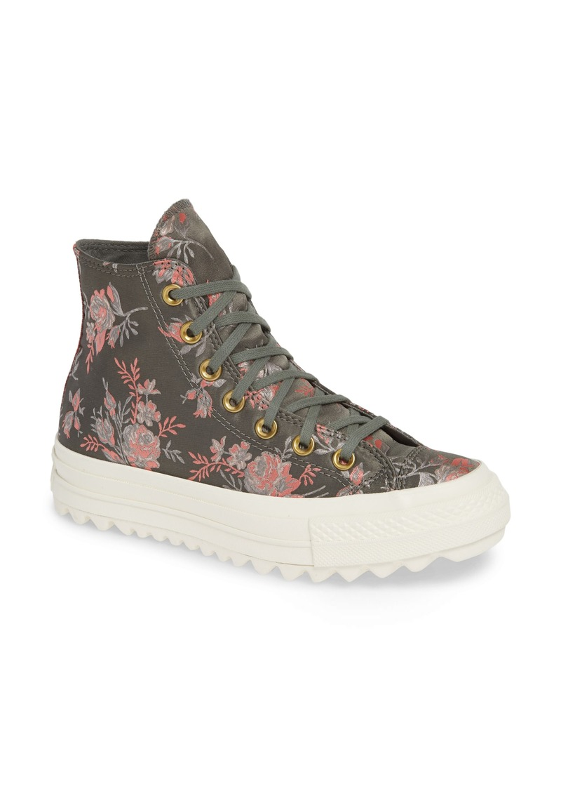 80f98d260495 Converse Chuck Taylor® All Star® Lift Ripple Parkway Floral High Top  Sneaker (Women