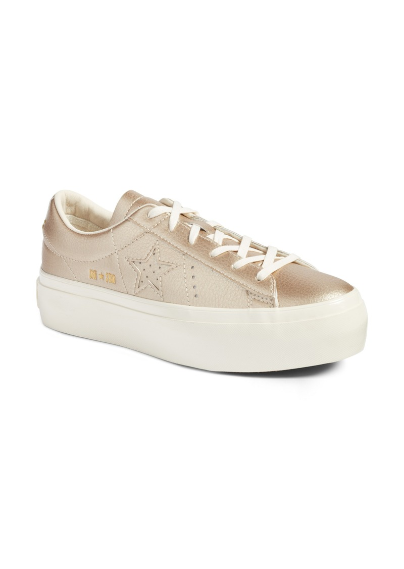 Converse Women's One Star Platform Casual Sneakers from Finish Line vXM0T