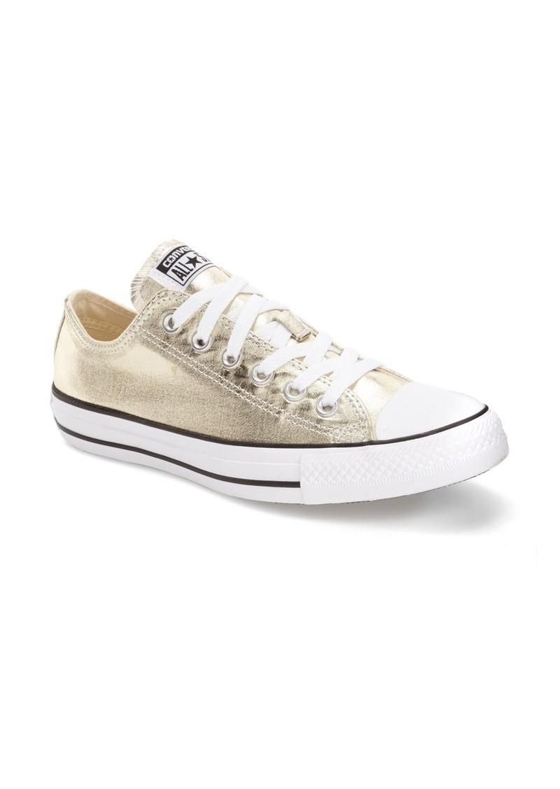 Converse Chuck Taylor® All Star® 'Ox' Metallic Low Top Sneaker (Women)