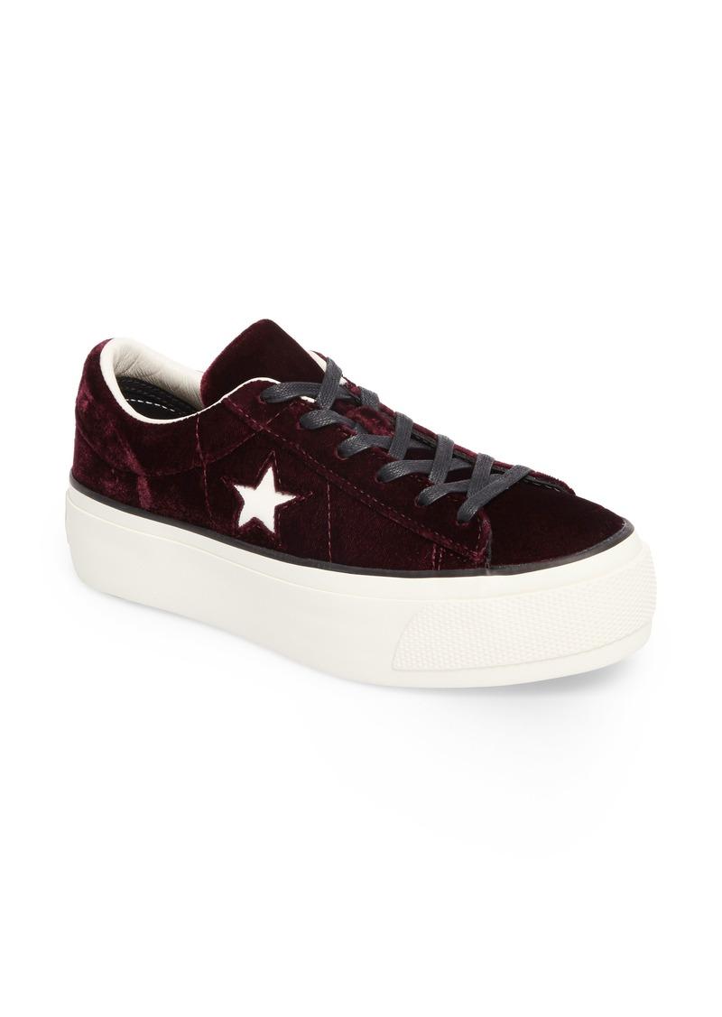 Converse Chuck Taylor® One Star Platform Sneaker (Women)