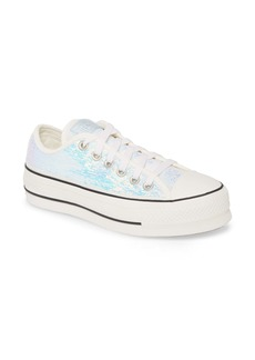 Converse Chuck Taylor® All Star® Sequin Embellished Platform Sneaker (Women)
