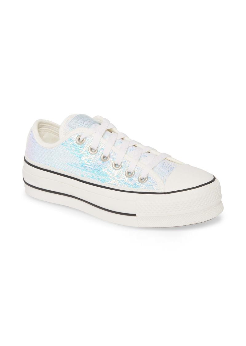 Converse Chuck Taylor® All Star® Sequin Embellished Platform Sneaker (Women)