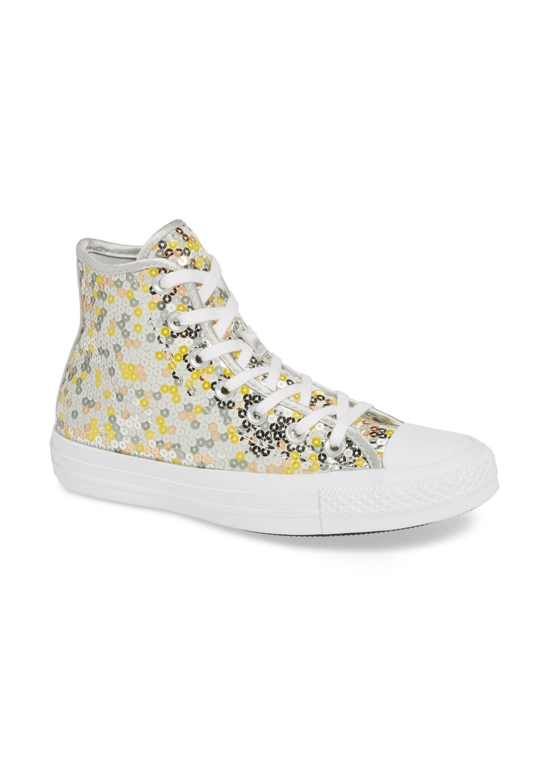 255fa373b888 Converse Converse Chuck Taylor® All Star® Sequin High Top Sneaker ...