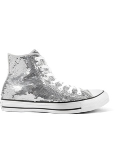 Converse Chuck Taylor All Star sequined canvas high-top sneakers