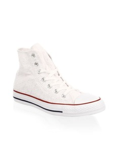 Converse Chuck Taylor All-Star Star-Embroidered High-Top Sneakers