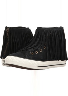 Converse Chuck Taylor® All Star® Suede + Shearling Fringe Hi