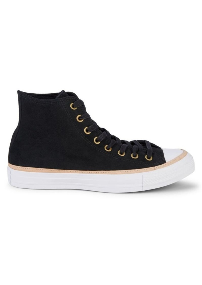 Converse Chuck Taylor All Star Vachetta High-Top Leather Sneakers