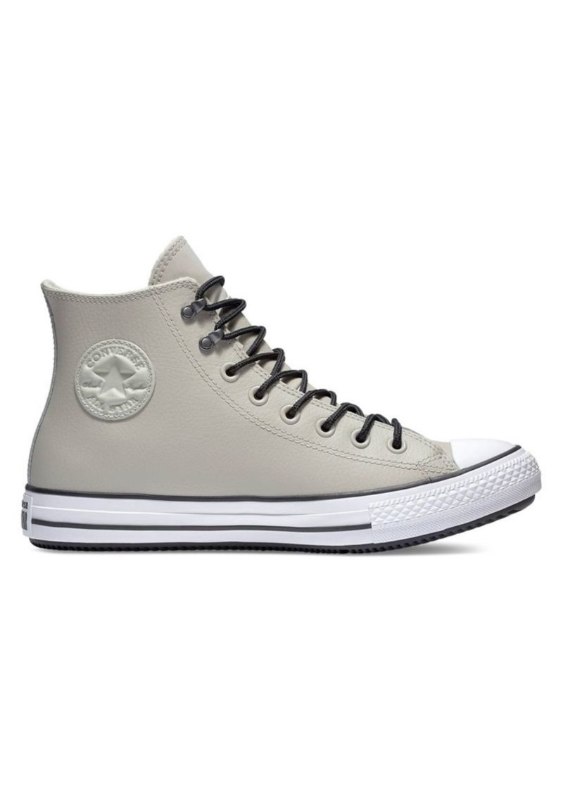 Converse Chuck Taylor Logo Leather High-Top Sneakers