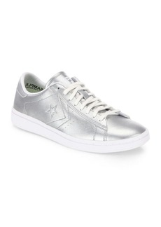 Converse Chuck Taylor Pro Metallic Leather LP Ox Sneakers