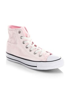 Converse Classic Velvet High-Top Sneakers