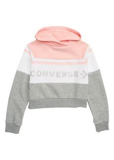 Converse Colorblock Raglan Pullover (Big Girls)
