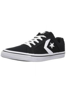 Converse Men's El Distrito Canvas Low Top Sneaker black/white/black