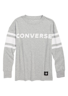 Converse Football Jersey Long Sleeve T-Shirt (Big Boys)