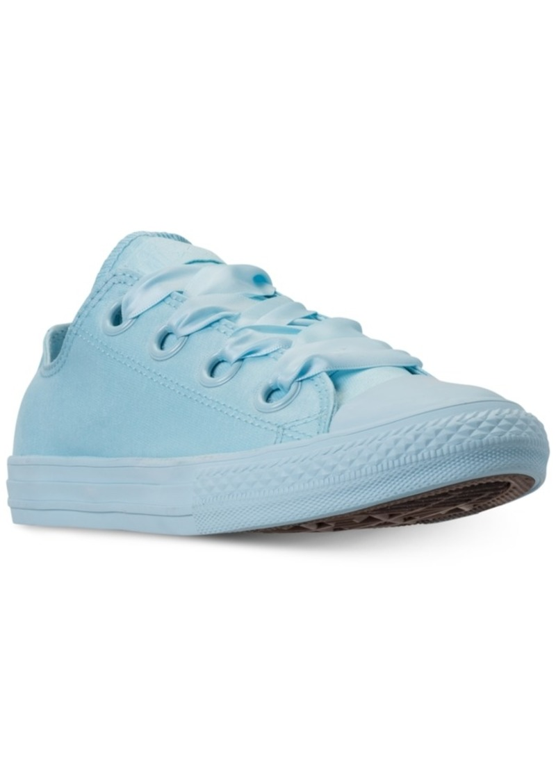 8f96ed4a3830 Converse Girls  Chuck Taylor All Star Big Eyelets Ox Casual Sneakers from  Finish Line