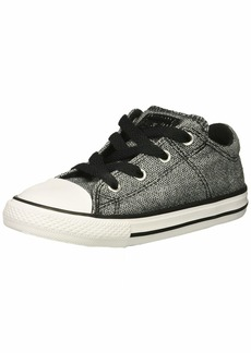 Converse Girls' Chuck Taylor All Star Madison Low Top Sneaker Black/White