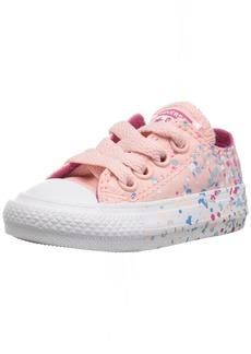Converse Girls' Chuck Taylor All Star Metallic Foil Low Top Sneaker