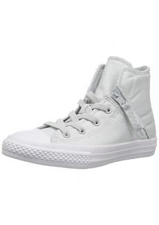 Converse Girls' Chuck Taylor All Star Pull-Zip High Top Sneaker