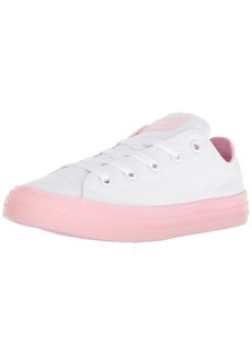 Converse Girls' Chuck Taylor All Star Translucent Color Midsole Low Top Sneaker