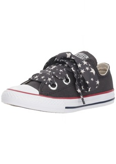 Converse Girls' Eyelet Star Lace Low Top Sneaker