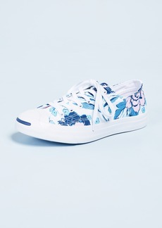 Converse Jack Purcell Floral Print Sneakers