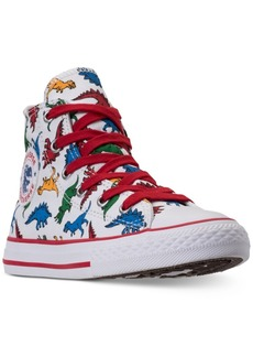 Converse Little Boys' Chuck Taylor All Star Dinoverse High-Top Casual Sneakers from Finish Line