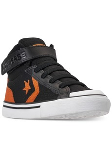 f3c3e4621f82 Converse Little Boys  Pro Blaze Strap High Top Casual Sneakers from Finish  Line